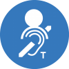 One-to-one hearing loops are for great for service desks and ticket booths.